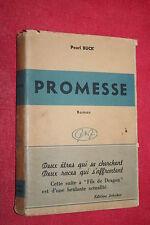 PROMESSE par PEARL BUCK éd.JEHEBER 1947
