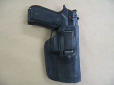 Beretta 92, 92FS, 96, M9  IWB Leather In The Waistband Concealed Carry Holster
