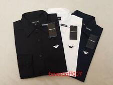 Mens Emporio Armani Poplin Smart Shirt