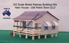 HO Scale Old Style Kit Home 1890's Yebri House Model Railway Building Kit  YHPT1