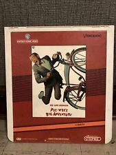 Pee-Wee Herman In Pee-Wee's Big Adventure Videodisc CED