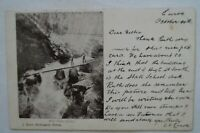 Weir Falls Euroa Victoria Collectable Vintage Antiquarian Postcard.