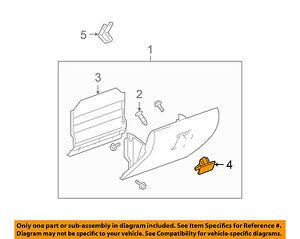 GM OEM Glove Box-Latch Handle 10391626