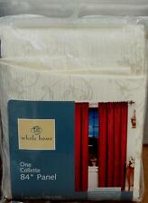 "Whole Home Collette 84"" Panel - Beige - GORGEOUS - BRAND NEW IN PACKAGE"