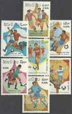 Timbres Sports Football Laos 692/8 ** (32973D)