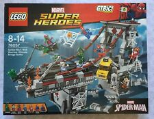 LEGO SUPER HEROES MARVEL SPIDER-MAN: WARRIORS ULTIMATE BRIDGE BATTLE  Ref 76057