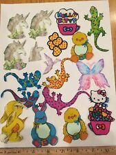 Crafting Scrap Booking Card Making  Iron on Fabric Appliques Whimsical Kids