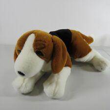 "Kids Preferred Beagle Puppy Dog Plush Stuffed Animal Brown Black White Spots 18"""
