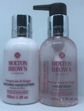Molton Brown Pomegranate & Ginger Enriching Hand Lotion & Hand Wash 100ml