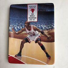 Michael Jordan Limited Edition Tough D Collectible Plate Bradford Exchange Upper