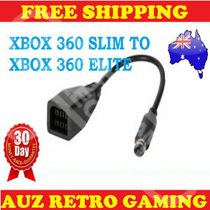 Power Supply Converter Adapter Cable Xbox 360 to Xbox 360 E Elite