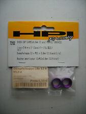 HPI 72102 Dämpferkappe 12 x M13 x 0,8 mm (2 Stück / Lila)