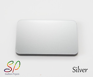 Silver Metallic Acrylic Sheets With or Without Adhesive Back 3mm Cast Acrylic