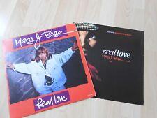 """Mary J Blige  Real Love  US 12""""  & UK 12"""" Old Skool hip hop"""