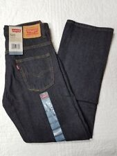 NEW BOYS LEVIS 505 JEANS STRAIGHT LEG 3D BLACK VARIOUS SIZES NWT
