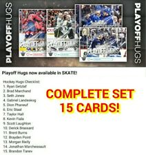 2018 HOCKEY PLAYOFF HUGS COMPLETE SET OF 15 Topps NHL Skate Digital Card