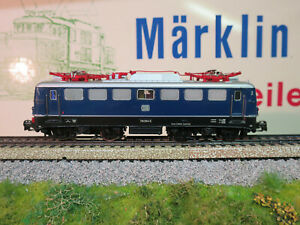 (MB) Märklin 3039 BR110 Digital With Change White/Red + 6LEDs Top Condition