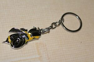 Metal Keychain For Dodge Charger Challenger Super Bee Scat Pack SRT 392 Hemi