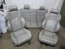 Audi S3 8L Recaro Lederausstattung Grau Elektrisch Sitze Rückbank