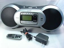 Sirius Xm Satellite Radio Sportster BoomBox Sp-B1R/Sp-R1R Radio + Remote & Power