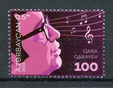 Azerbaijan 2018 MNH Qara Qarayev Gara Garayev 1v Set Composers Music Stamps