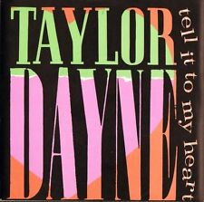 "TAYLOR DAYNE tell it to my heart/instrumental 109616 uk arista 1987 7"" PS EX/EX"