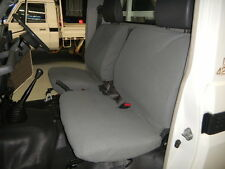 Tuffnuts Canvas seat cover, Landcruiser 79 series