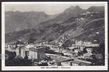 BERGAMO SAN PELLEGRINO TERME 46 Cartolina viaggiata 1943