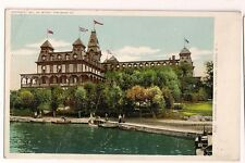 Early Crossman Hotel Thousand Islands NY New York Detroit Publishing