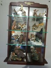 American Indian Heritage Plains Animals Figures 8 Franklin Mint Murphy Stand