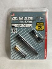 Maglite Solitaire Incandescent 1-Cell AAA Flashlight - Black