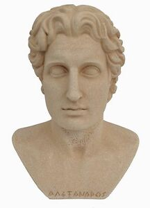 Alexander the Great Macedonian Bust King Of Vergina Ancient Greece