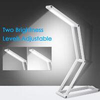 Portatile Pieghevole 30LED Flessibile Lettura Luce Ricaricabile Tavolo Scrivania