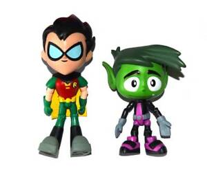 Jazwares DC Comics Teen Titans Robin & Beast Boy Loose Action Figure
