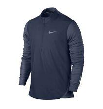 Nike AeroReact Half-Zip Navy Pullover Jacket (800653 410) Men's Sz. M (MSRP$175)