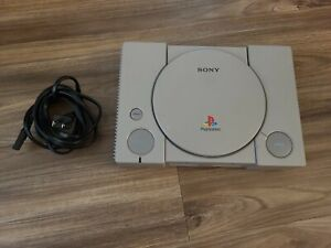 Original Sony PlayStation 1 PS1 CONSOLE ONLY TESTED AND WORKING!