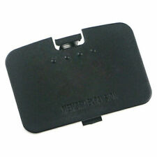 Jumper Pak Memory  Expansion Pack Cover Replace Door Lid For Nintendo N64 Black