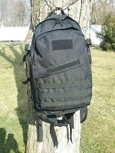 3 Day Assault Pack/Backpack, Black, MOLLE, 37L/2300cu in