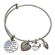 Daughter in Law Bangle Bracelet - Perfect Gift for Daughter in Laws