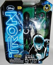 Disney Tron Legacy Ultimate Sam Flynn Action Figure Toy Talking Movie