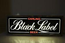 Vintage Black Label BEER Lighted Sign