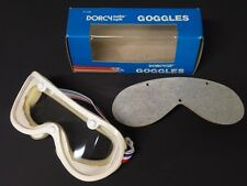 NOS Vintage Goggles with Extra Lens Motorcycle Motocross AHRMA
