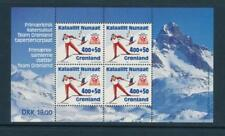 Greenland Scott #B19a s/s of 4 Extra Fine (Mint Never Hinged) Scv:$12.00