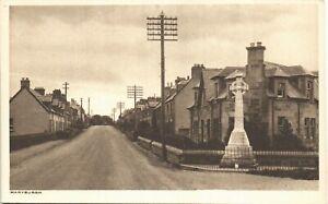 Maryburgh near Dingwall in RA Series for George Souter, Dingwall. War Memorial.