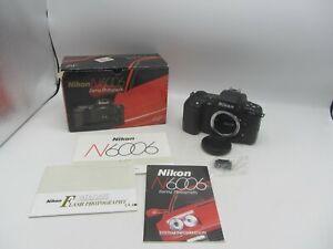 Nikon N6006 AF Auto Focus 35mm SLR Film Camera Body Tested NOS w/ Original Box