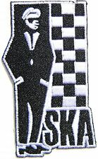 SKA Rude boy Music Band Logo Patch Sew Iron on Embroidered Applique