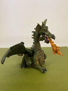 Papo - 2005 - Green Dragon Toy Figure