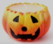 CUTE CERAMIC PUMPKIN SCENTED CANDLE HOLDER HALLOWEEN LANTERN DECORATION (ROUND)