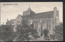 Sussex Postcard - South Side of Rye Church  RS4594