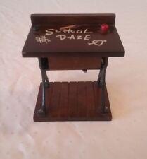 Vintage George Good Corp 1985 Music box School Desk